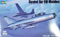 トランペッター1/48 エアクラフト プラモデルソビエト空軍 Su-9U メイデン