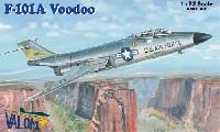バロムモデル1/72 エアクラフト プラモデルF-101A ヴードゥー