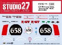 スタジオ27ツーリングカー/GTカー オリジナルデカールメルセデス 300SL ボンネビル #658 2003/2004