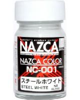 ガイアノーツNAZCA カラーシリーズNC-001 スチールホワイト (光沢)