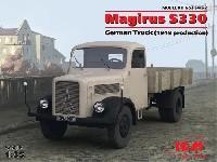 ICM1/35 ミリタリービークル・フィギュアドイツ マギルス S330 トラック (1949)