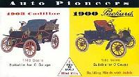 グレンコモデルプラスチックモデル組立キットアメリカ自動車 黎明期セット 1/48 キャデラック 1903 & 1/50 パッカード 1900