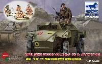 ブロンコモデル1/35 AFVモデルハンバー Mk.1 偵察装甲車 & AFVクルーセット