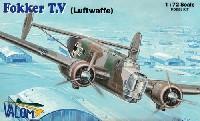 バロムモデル1/72 エアクラフト プラモデルフォッカー T.V 双発爆撃機 ドイツ空軍