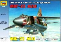 ズベズダ1/72 エアクラフト プラモデルMIG-23 MLD ソビエト戦闘攻撃機