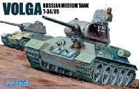フジミ1/76 ワールドアーマーシリーズロシア中戦車 ボルガ T34/85