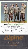 アルパイン1/35 フィギュアWW2 アメリカ ヒュルトゲンの森の戦い (4体セット)