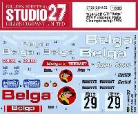 スタジオ27ラリーカー オリジナルデカールフォルクスワーゲン ゴルフ Gti ベルガ #29 ヨーロピアンラリー チャンピオンシップ 1984