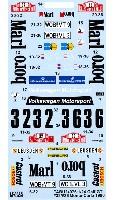 フォルクスワーゲン ゴルフ Gti #32/#36 モンテカルロラリー 1980 デカール