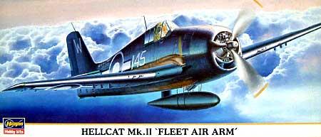 ヘルキャット Mk.2 フリート エア アームプラモデル(ハセガワ1/72 飛行機 限定生産No.00634)商品画像