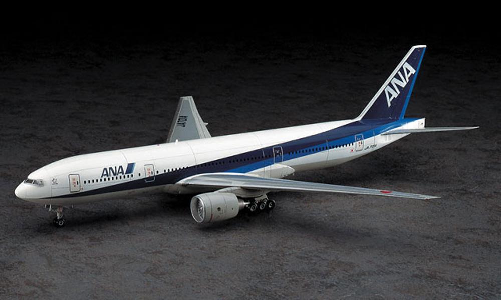 全日空 ボーイング 777-200プラモデル(ハセガワ1/200 飛行機シリーズNo.004)商品画像_2