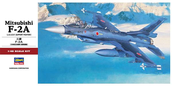 三菱 F-2Aプラモデル(ハセガワ1/48 飛行機 PTシリーズNo.PT027)商品画像