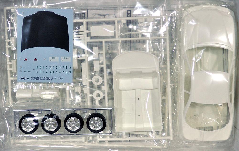 スマイリー酒井 DC2 インテグラ タイプR 前期型プラモデル(フジミ頭文字 DNo.015)商品画像_1