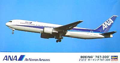 全日空 ボーイング 767-300プラモデル(ハセガワ1/200 飛行機シリーズNo.006)商品画像