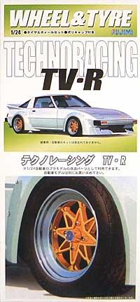 テクノレーシング TV・R (15インチ)プラモデル(フジミ1/24 パーツメーカーホイールシリーズNo.032)商品画像