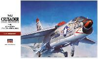 ハセガワ1/48 飛行機 PTシリーズF-8J クルーセイダー
