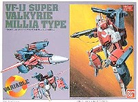 バンダイ超時空要塞マクロスVF-1J 可変スーパーバルキリー (ミリアタイプ)