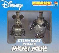 ミッキー&ピート 〔蒸気船ウイリー〕(2体セット)