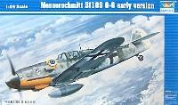 トランペッター1/24 エアクラフトシリーズメッサーシュミット Bf109G-6 前期型