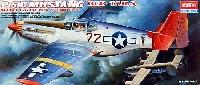 アカデミー1/72 AircraftsP-51 ムスタング レッドテイル w/グランドビークル