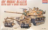 アカデミー1/35 ArmorsI.D.F. M60A1 ブレイザー KMT-4マインローラー装備