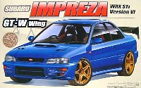 スバル インプレッサ WRX Sti Version 6 GT・Wウイング