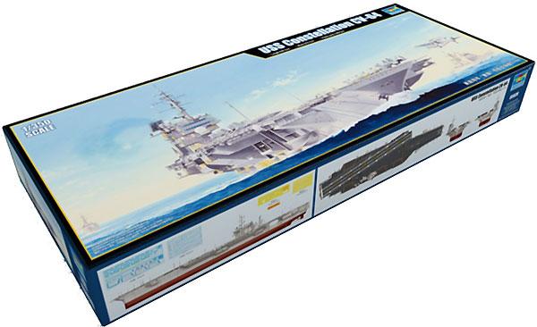 USS コンステレーション CV-64プラモデル(トランペッター1/350 艦船シリーズNo.05620)商品画像