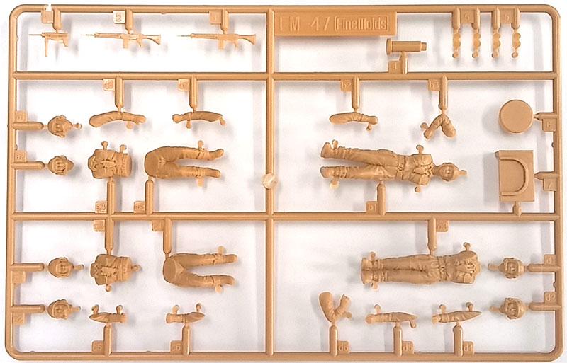 陸上自衛隊 戦車乗員セット('65-'90年代)プラモデル(ファインモールド1/35 ミリタリーNo.FM047)商品画像_1