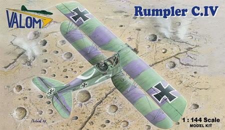 ルンプラー C.4プラモデル(バロムモデル1/144 エアクラフトNo.14416)商品画像