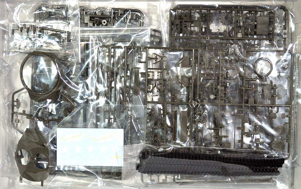 アメリカ中戦車 M4A3(76)W シャーマン サンダーボルト 6プラモデル(アスカモデル1/35 プラスチックモデルキットNo.35-036)商品画像_1