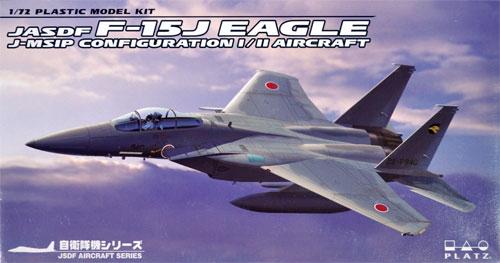 航空自衛隊 F-15J イーグル 近代化改修機 形態1型 IRST搭載機 / 2型プラモデル(プラッツ航空自衛隊機シリーズNo.AC-017)商品画像