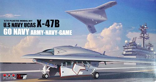 アメリカ海軍 無人爆撃機 X-47B GO NAVY アーミー・ネイビーゲームプラモデル(プラッツ1/72 プラスチックモデルキットNo.AC-018)商品画像