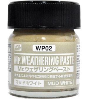 マッドホワイト塗料(GSIクレオスMr.ウェザリングペーストNo.WP002)商品画像