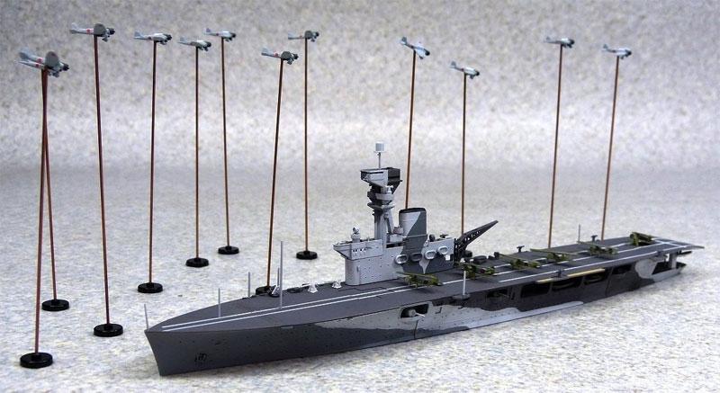 英国海軍 航空母艦 ハーミーズプラモデル(アオシマ1/700 ウォーターラインシリーズNo.051009)商品画像_2