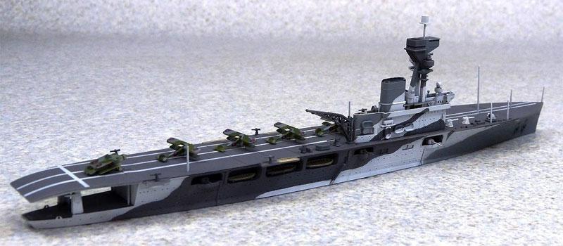 英国海軍 航空母艦 ハーミーズプラモデル(アオシマ1/700 ウォーターラインシリーズNo.051009)商品画像_3