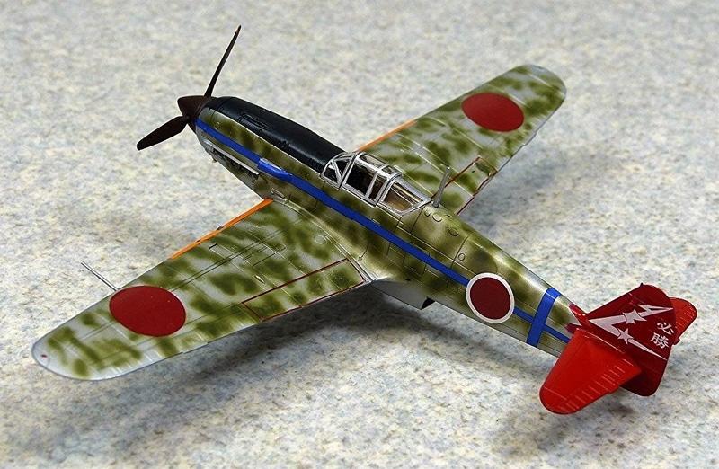 三式戦 飛燕 1型丁 244部隊プラモデル(アオシマ1/72 エース列伝No.009)商品画像_2