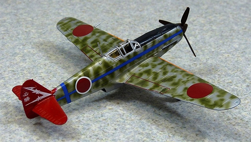三式戦 飛燕 1型丁 244部隊プラモデル(アオシマ1/72 エース列伝No.009)商品画像_3