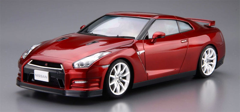ニッサン R35 GT-R ピュアエディション '14プラモデル(アオシマ1/24 ザ・モデルカーNo.旧003)商品画像_2