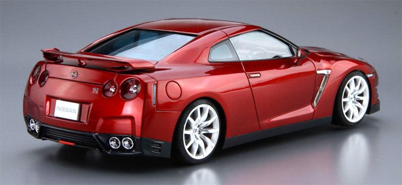 ニッサン R35 GT-R ピュアエディション '14プラモデル(アオシマ1/24 ザ・モデルカーNo.旧003)商品画像_3