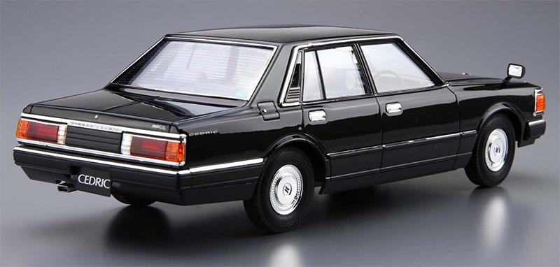 ニッサン 430 セドリック セダン 200E GL '81プラモデル(アオシマ1/24 ザ・モデルカーNo.旧009)商品画像_3