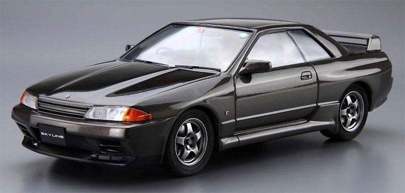 ニッサン BNR32 スカイライン GT-R '89プラモデル(アオシマ1/24 ザ・モデルカーNo.旧012)商品画像_2