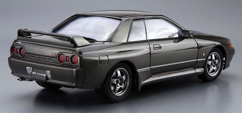ニッサン BNR32 スカイライン GT-R '89プラモデル(アオシマ1/24 ザ・モデルカーNo.旧012)商品画像_3