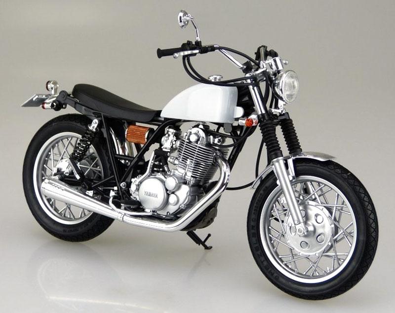 ヤマハ SR400S 1995 カスタムパーツ付属プラモデル(アオシマ1/12 バイクNo.011)商品画像_2