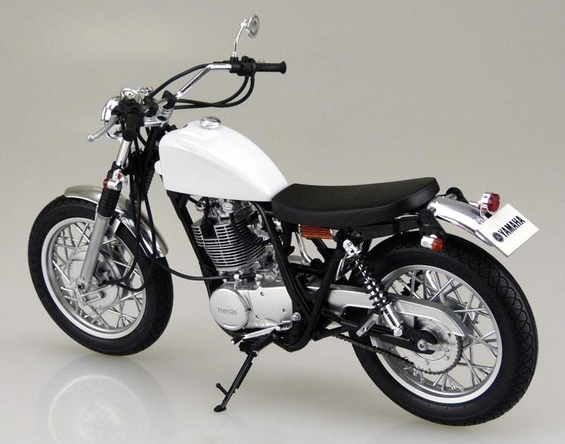 ヤマハ SR400S 1995 カスタムパーツ付属プラモデル(アオシマ1/12 バイクNo.011)商品画像_3