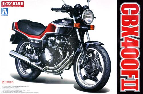 ホンダ CBX400F2プラモデル(アオシマ1/12 バイクNo.014)商品画像