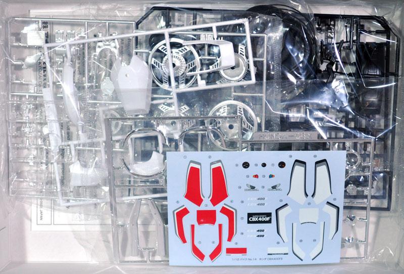 ホンダ CBX400F2プラモデル(アオシマ1/12 バイクNo.014)商品画像_1