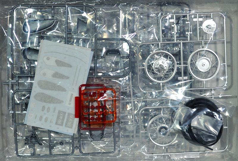 ヤマハ SR400/500 '96プラモデル(アオシマ1/12 バイクNo.017)商品画像_1