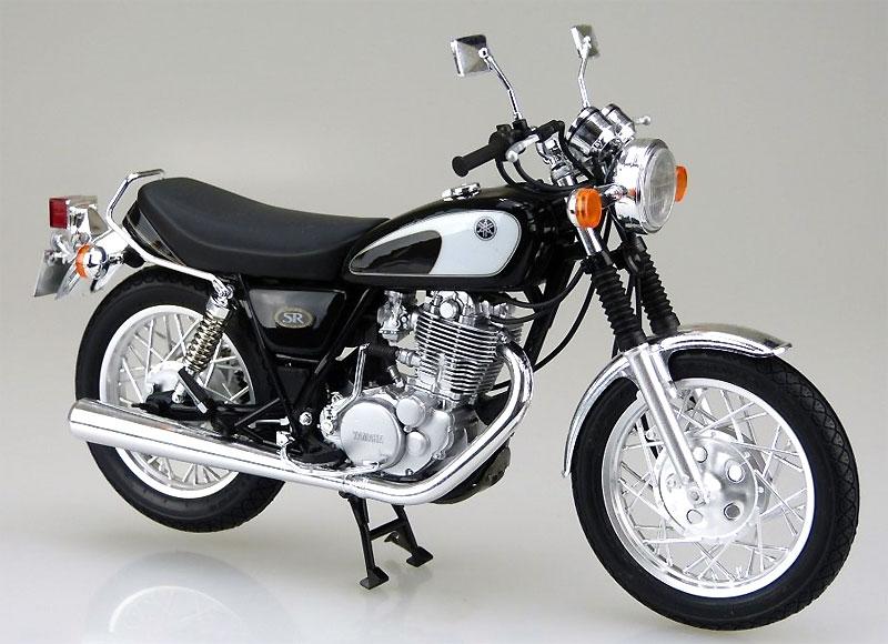 ヤマハ SR400/500 '96プラモデル(アオシマ1/12 バイクNo.017)商品画像_2