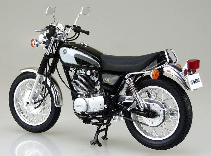 ヤマハ SR400/500 '96プラモデル(アオシマ1/12 バイクNo.017)商品画像_3