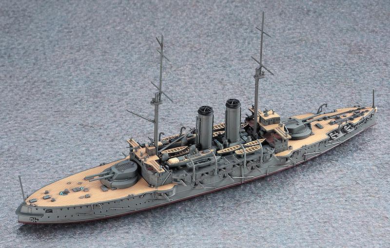 日本戦艦 三笠プラモデル(ハセガワ1/700 ウォーターラインシリーズNo.151)商品画像_3